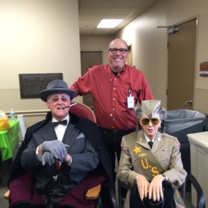 Volunteering at Jewish War Veterans Gift For Yanks program for Hospitalized Veterans West Los angeles VA Medical Center December 25, 2015.